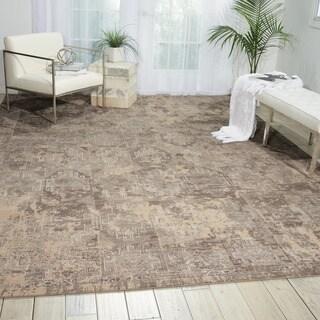 Nourison Silk Elements Mushroom Rug (8'6 x 11'6)