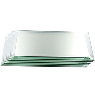 Rectangle Mirrors for Your High-end Collectibles or Decorative Purpose, 3MM Bevel