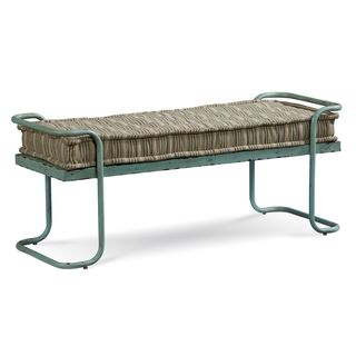 A.R.T. Furniture Epicenters Williamsburg Blue/ Green Bed Bench