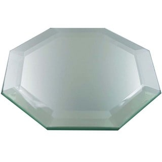 Frameless Octagon Decorative Display Mirror With Feet