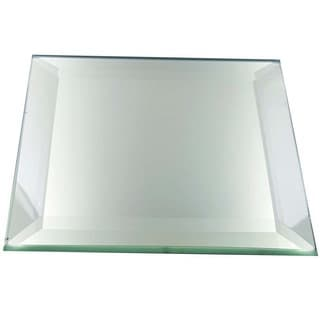 High-quality 5-millimeter Beveled Thick and Heavy Frameless Square Decorative Display Mirrors With Feet