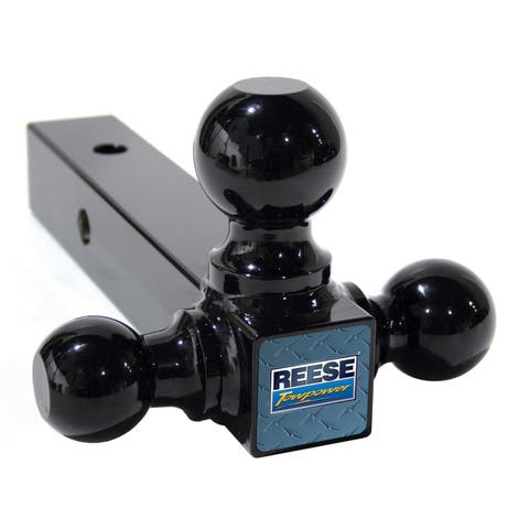 Reese Towpower 21512 1-7/8-inch Black Triple Ball Mount