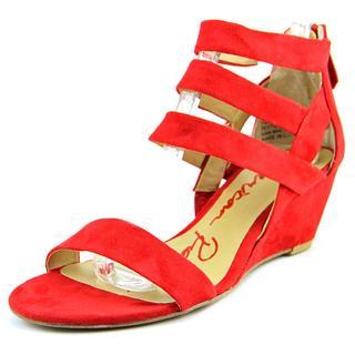 American Rag Women's Red Fabric 'Casen' Basic Textile Sandals