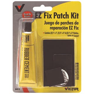 Victor 00401-8 EZ Fix Rubber Patch Kit|https://ak1.ostkcdn.com/images/products/11826687/P18732308.jpg?impolicy=medium
