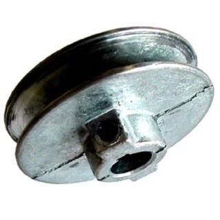 Chicago Die Casting 250A 1/2 2-1/2-inch Single V Groove 1/2-inch Pulley