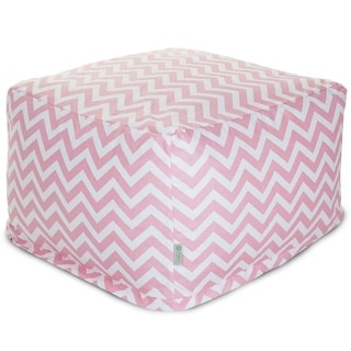 Majestic Home Goods Chevron Ottoman