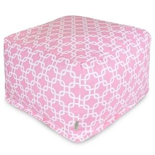 Majestic Home Goods Soft Pink Links Ottoman