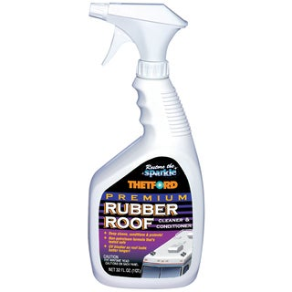 Thetford Marine 32512 32-ounce Premium Rubber Roof Cleaner and Conditioner