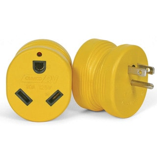 Camco 55223 15 Amp Male To 30 Amp Female Electrical Adapter
