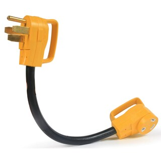 Camco 55173 18-inch RV Electric Adapter