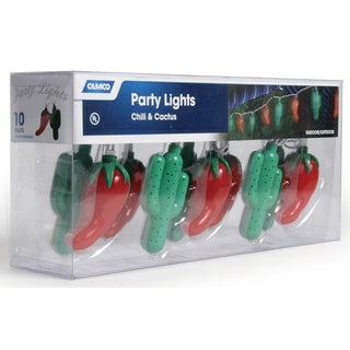 Camco 42659 Chili-Cactus Party Lights