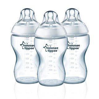Tommee Tippee 11-ounce Thick Feed Bottle (Pack of 3)