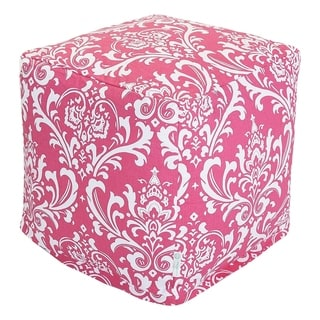 Majestic Home Goods Hot Pink French Quarter Cube