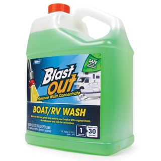 Camco 41867 1 Gallon Blast Out Wash