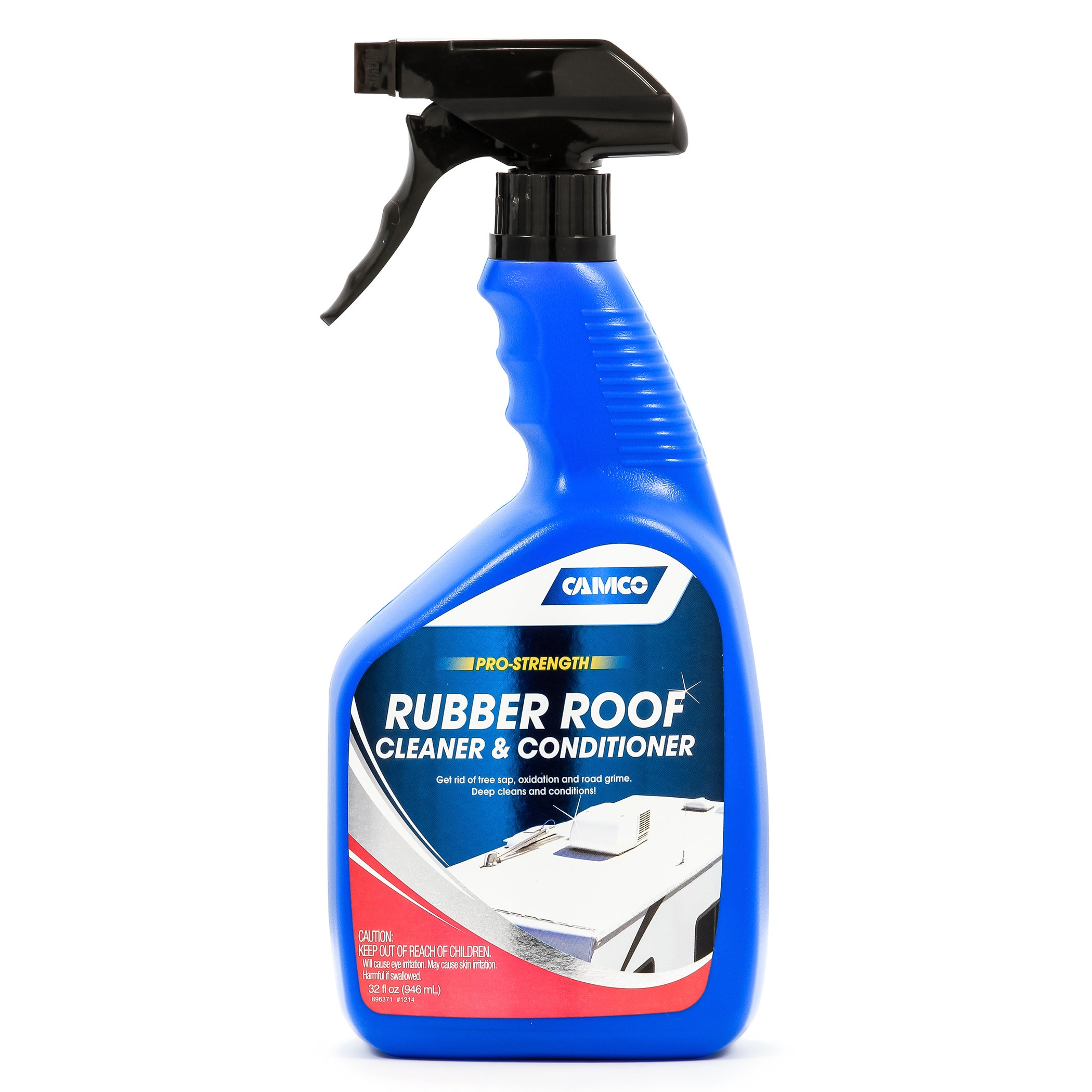 Camco 41063 Rubber Roof Cleaner & Conditioner For RV, Cam...