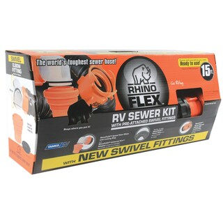Camco 39761 15' Sewer Hose Kit