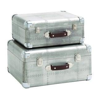 Ultra Cool Wood Aluminiumn Case (Set of 2)