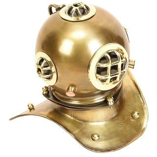 Brass Diving Helmet For (Small)er Spaces