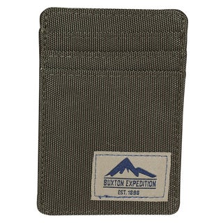 Buxton Expedition Nylon Front-pocket Money Clip