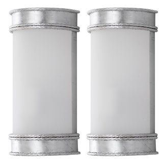 Safavieh Lighting Florence Silver Leaf Wall Sconce (Set of 2)
