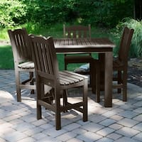 Lehigh 5-piece Square Counter-height Dining Set