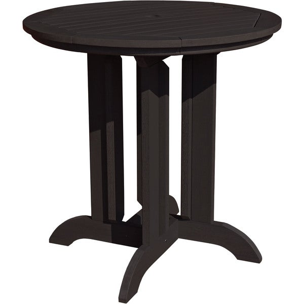 Highwood Eco Friendly Synthetic Wood 36 Inch Round Counter Height Dining Tabl