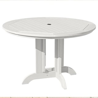 Highwood Eco-Friendly 48 Round Dining Table (White)