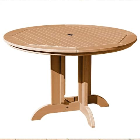 "Highwood Eco-Friendly 48"" Round Dining Table"