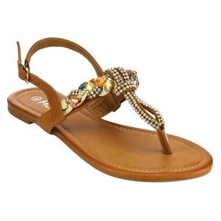 MI.IM CHATEAU Slingback Thong Sandals