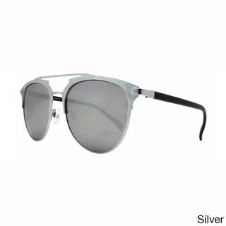 Epic Eyewear Dapper Crossbar Metal UV400 Aviator Sunglasses
