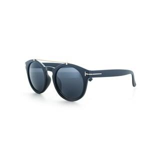 EPIC EYEWEAR Men's Thick Frame Dapper Crossbar UV400 Sunglasses