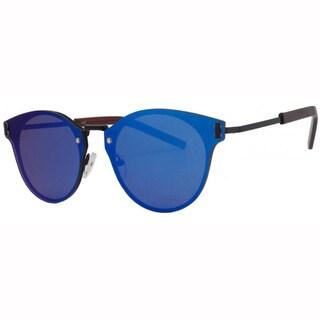 EPIC Eyewear Dapper Flat Lens Horned Rim UV400 Sunglasses