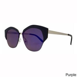8ca1b65ad3f Epic Eyewear Urban Fashion Dapper Frame Double Bar Flash Lens Women  Sunglasses Model 74. Quick View