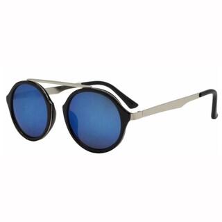 Epic Eyewear Men's Designer Top Bridge Round Frame UV400 Sunglasses
