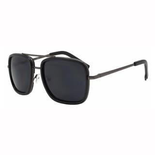 Epic Eyewear Rectangular Double Frame Retro Aviator Sunglasses UV400