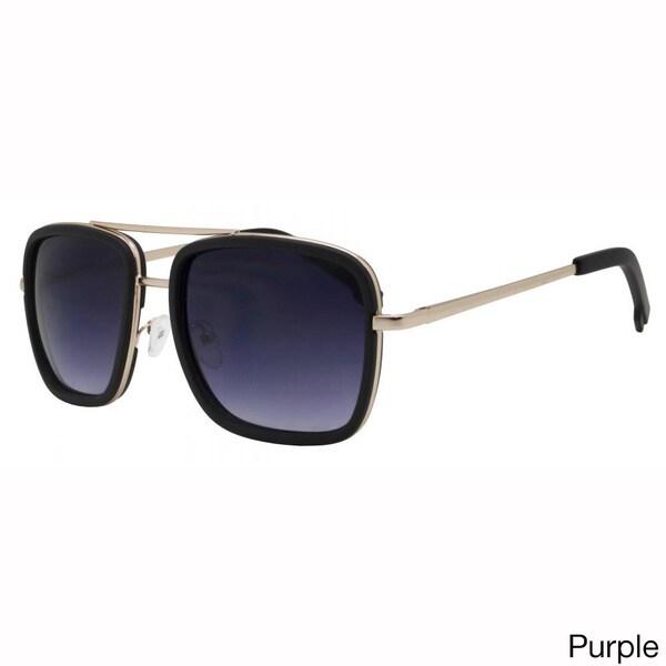 White Frame Sunglasses Blue//Green Spectrum Lens Unisex Mens Womens Retro UV400