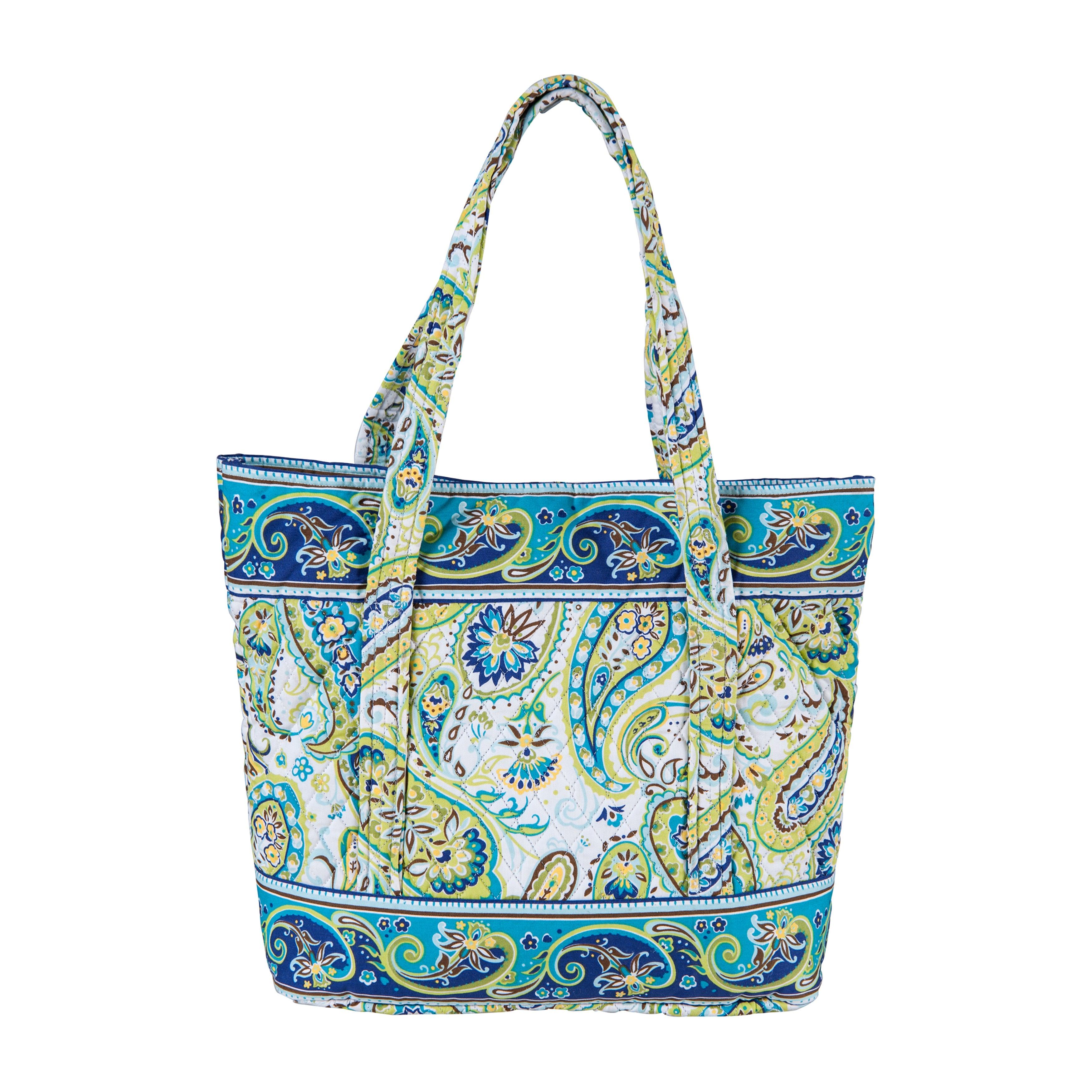 Enterprises Santa Cruz Cotton Quilted Large Tote Bag (San...