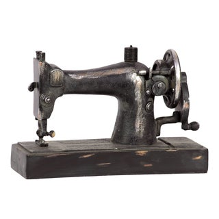 Dazzling Piece Of Old Resin Sewing Machine