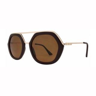 EPIC EYEWEAR Men's High Fashion Matrix Frame UV400 Sunglasses