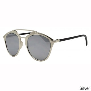 Epic Eyewear Dapper Metal Frame Horned Rimmed Sunglasses UV400