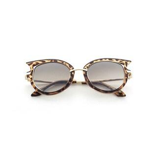 Epic Eyewear Designer High-fashion Winged-tip UV400 Sunglasses