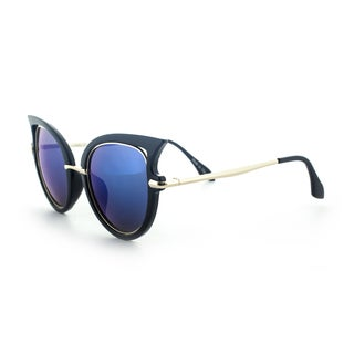 Epic Eyewear Designer High-fashion Winged-tip UV400 Sunglasses