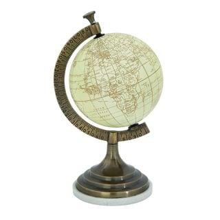 Stunning Aluminum Marble Globe