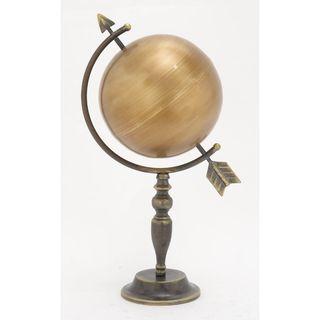 Innovative Metal Gold Globe