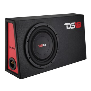 DS18 Shallow Subwoofer in Enclosed Box