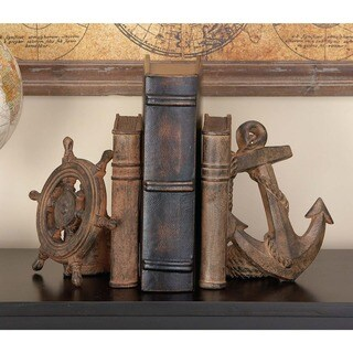 Havenside Home Buckroe Nautical Bookend Pair