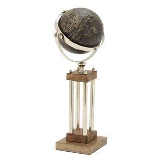 Innovative Wood Aluminum Stainless Steel Globe