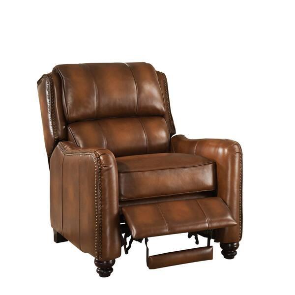 Incredible Shop Lowry Vintage Brown Premium Top Grain Leather Recliner Ibusinesslaw Wood Chair Design Ideas Ibusinesslaworg