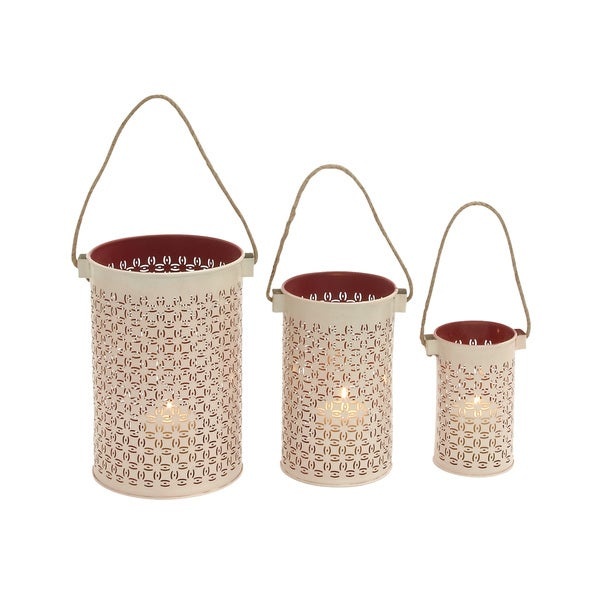 Metal Lantern Set of 3 Pcs