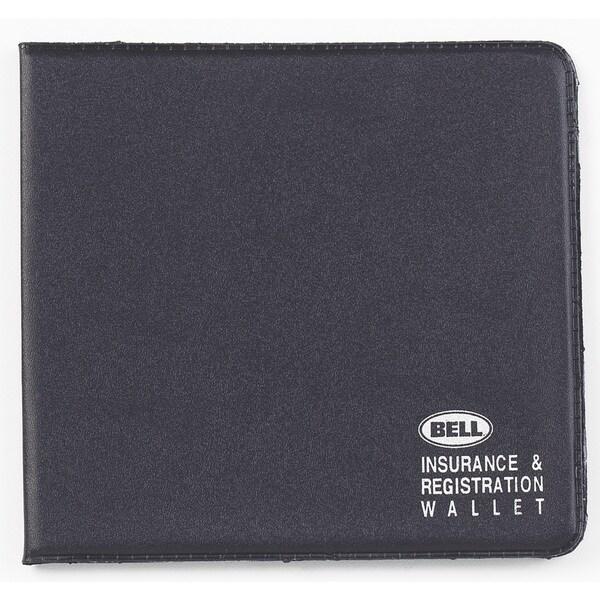 Bell 11001-8 Black Insurance & Registration Wallet